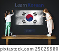 Learn Korean Language Online Education Concept 25029980