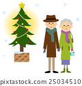 elderly, couple, old 25034510