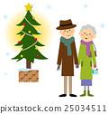 elderly, couple, old 25034511