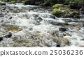 A River Flows Over Rocks 25036236