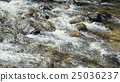 A River Flows Over Rocks 25036237