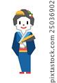 kabuki, kimono, women 25036902