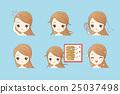cartoon girl hair problem 25037498