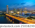 Singapore city skyline at night 25038299