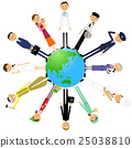 Earth-working people 25038810