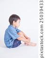 Blue clothes children 25039433