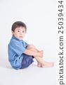Blue clothes children 25039434