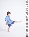 Blue clothes children 25039435