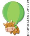 奶牛 牲口 牛 25041319