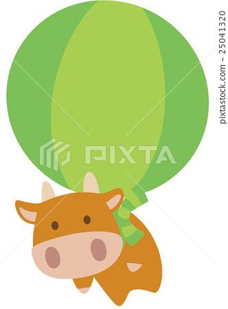 奶牛 牲口 牛 25041320