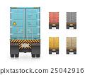 Trailer truck vector 25042916