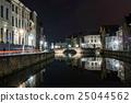 夜景 世界遺產 運河 25044562