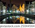 夜景 世界遺產 運河 25044564
