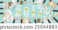 Flat View 2017 Business Plan Vector  25044883