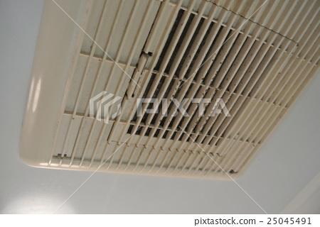 真實的!模具在浴室通風浴室污垢 25045491