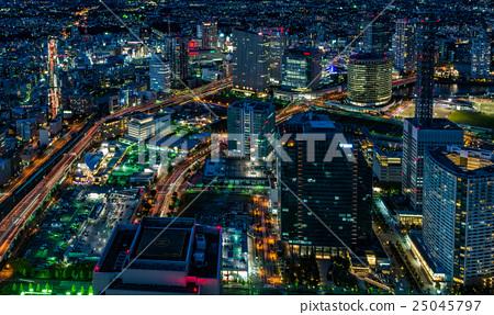 橫濱市中心的夜景 25045797