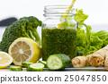 green, detox, smoothie 25047850