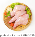 Fresh rabbit meat 25048036