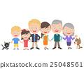 family, three, generations 25048561