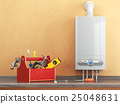 Gas boiler servicing or repearing concept. 25048631