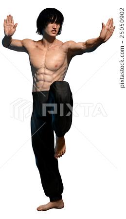 Kung fu martial artist 25050902