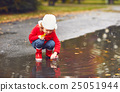 child, happy, puddle 25051944