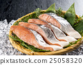三文魚 鮭魚 秋天鮭魚 25058320