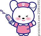 동물 간호사 귀여운 동물 간호사 주사기 토끼 님 발자취 25061995