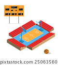 basketball arena vector 25063560