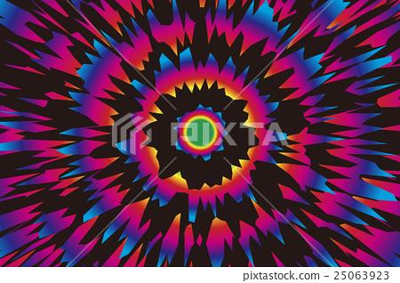 Background Material Wallpaper Radial Stock Illustration
