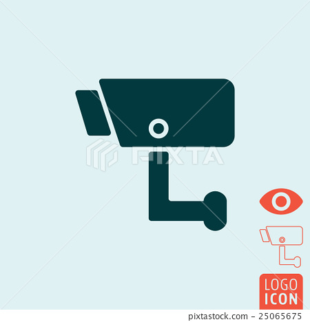 Surveillance icon isolated 25065675