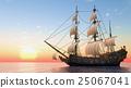 水手 帆船 航海 25067041