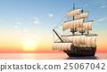 水手 帆船 航海 25067042