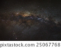 Panorama Milky Way galaxy 25067768