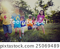 Teenybopper Young Children Youth Kids Concept 25069489