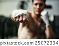 Man Exercise Athletic Boxing Concept 25072334