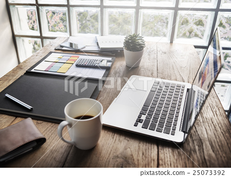 Business Objects Office Workspace Desk Concept 25073392