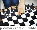 Chess Game Strategy Thinking Hobbies Leisure Concept 25076661