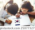 Learn Korean Language Online Education Concept 25077327