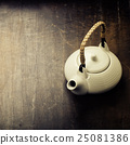 Image of traditional eastern teapot 25081386