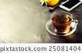 tea and mobile phone 25081404