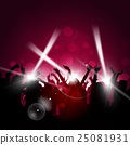 Party Red Background 25081931
