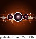 background, speaker, sound 25081960
