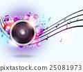 Sound Speaker Music Background 25081973