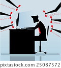 work, businessman, business 25087572