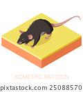 老鼠 矢量 矢量图 25088570