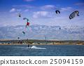 Kiteboarding Kitesurfing Extreme Sport 25094159
