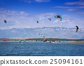 Kiteboarding Kitesurfing Extreme Sport 25094161