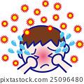 꽃가루 알레르기 소년 01 감기 예방 인플루엔자 25096480