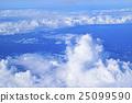 Cumulonimbus cloud seen from above 25099590